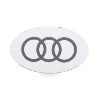 3-Circle Pattern 5V Wireless Charger Transmitter - White