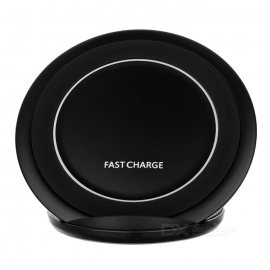 Qi Standard Wireless Charger Support Fast Charge - Black