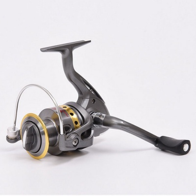 LE1000 Outdoor Sports Fishing Hand-Crank Metal Reel - Silver