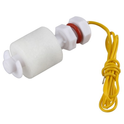 PP Liquid Water Level Sensor Right Angle Float Switch P45 - White