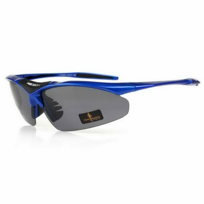 Free Soldier TR90 Frame PC Lens Sunglasses - Blue + Tan