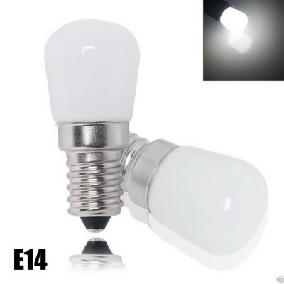 E14 2W LED 6000~6500K Cold White Light Refrigerator Bulb (AC 200V)