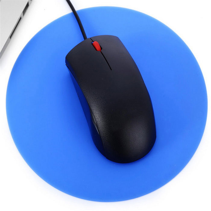 MAIKOU 195mm P50 Circular Mouse Pad - Blue