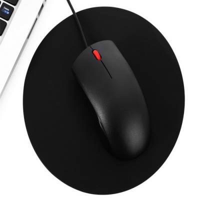MAIKOU 195mm P50 Circular Mouse Pad - Black