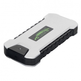 Carking 18000mAh 12V Car Emergency Mini Power Bank - Silver (EU Plug)