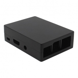 Geekworm Aluminum Case for Raspberry Pi 3 Model B / 2B / B+ - Black