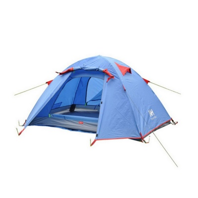 Ultralight 2/3-Person Outdoor Camping Tent Kit - Blue