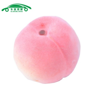 CARKING Artificial Faux Foam Fruit Ornament Peach - Pink
