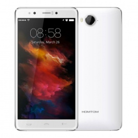 HOMTOM HT10 Android 6.0 Global 4G Phone w/ 4GB RAM, 32GB ROM - White