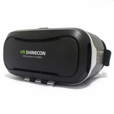 Shinecon 2.0 3D VR Virtual Reality Glasses - Black