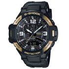Casio G-Shock GA-1000-9G Aviation Series Mens Watch - Black & Gold
