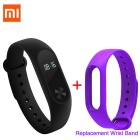 """Xiaomi 0.42"""" OLED Touch Screen Mi Band 2 Smart Bracelet + Replace Band"""