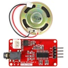 UART Serial MP3 Music Player Module w/ 1W Speaker for Arduino
