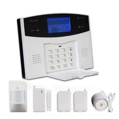 WL-JT-99AS GSM/PSTN Wireless Alarm System - Grey (EU Plug)