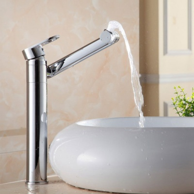 Contemporary Personalise 360° Multifunction Rotatable Brass Faucet