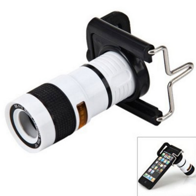 High Quality Portable 8X 18mm Mini Cell Phone Monocular Telescope