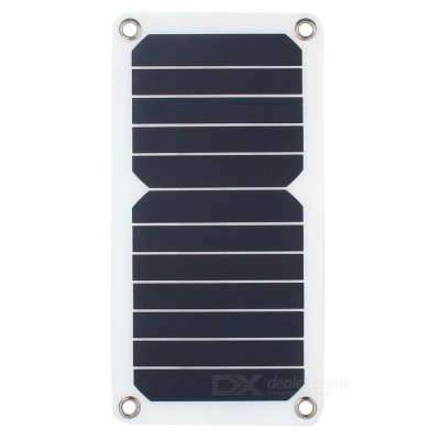 SUNWALK 6.5W High Efficiency Solar Panel Charger - White + Black