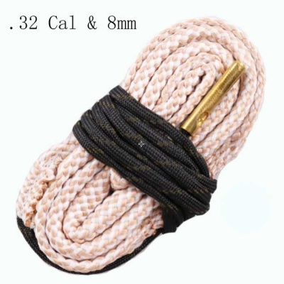 Snake Style Rifle Bore Cleaner for .32 Cal & 8mm Caliber Gun