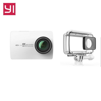 "Xiaomi Yi II Wi-Fi 4K 2.19"" Touch Sports Camera 2 + Waterproof Case"