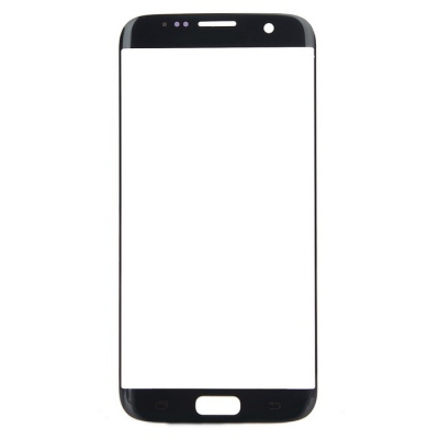 Replacement Glass Touch Screen Panel for Samsung S7 Edge - Black