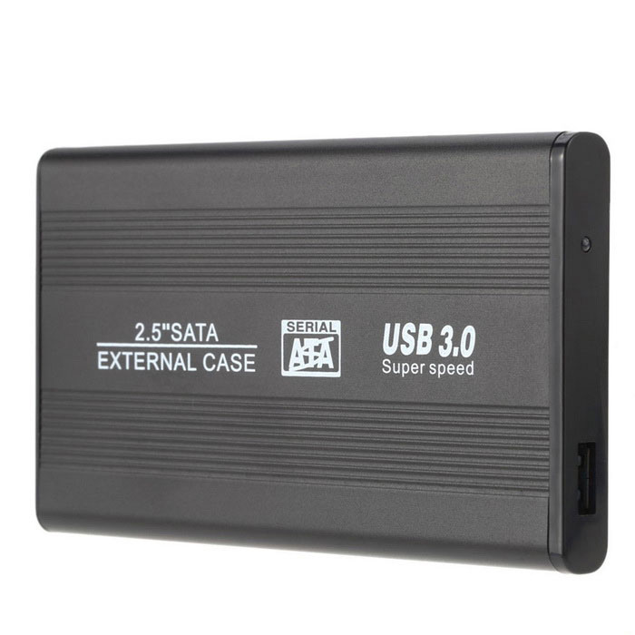 "Portable SATA 2.5"" USB 3 Hard Disk Enclosure Support 1 TB Hard Disk"