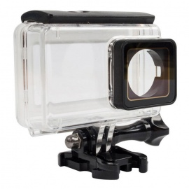 Touch Screen Waterproof Housing Case for Xiaomi - Transparent + Black