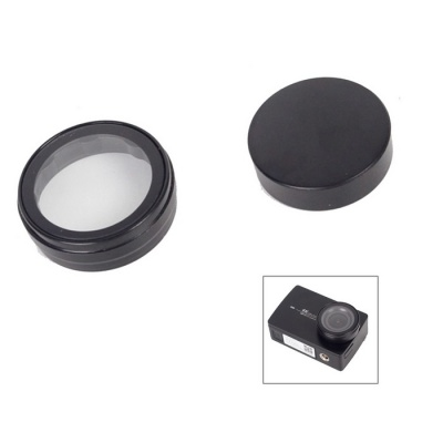 Sports UV Lens Cap + Protective Cover Set for XIAOYI 4K Camera 2