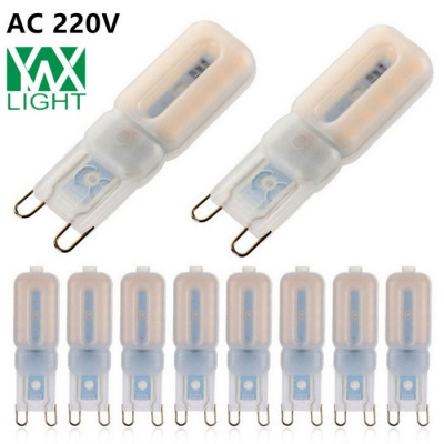 YWXLight Dimmable G9 5W 22-2835 SMD LED Silicone Light Bulbs