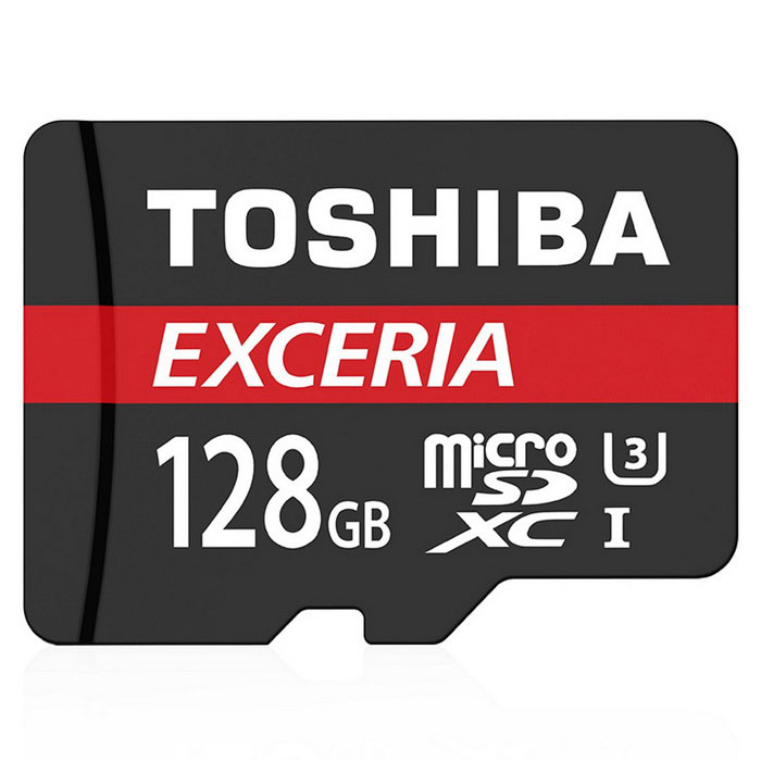 Toshiba THN-M302R1280EA 128GB MicroSD / TF Card with Adapter