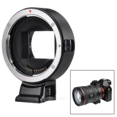 VILTROX Auto Focus EFS to E Adapter Ring for Canon to Sony - Black