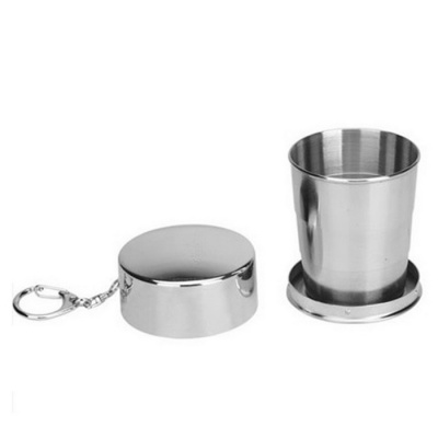 Stainless Steel Portable Outdoor Travel Camping Folding Cup