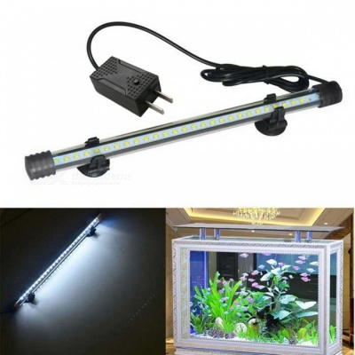 Jiawen 1.5W 30cm Cold White Light 27-LED Aquarium Light (US Plugs)