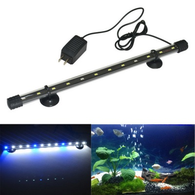 Jiawen 40cm Cold White + Blue Light LED Aquarium Light (US Plugs)