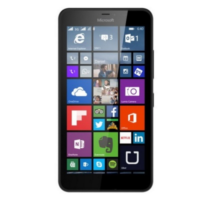 Nokia Lumia 640 XL RM1096 Dual SIM 8GB ROM - Black