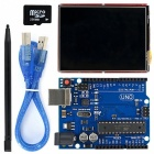 """2.8"""" TFT LCD Touch Screen LCD Shield Kit w/ TF card UNO R3 for Arduino"""