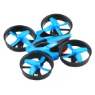 JJRC H36 2.4GHz 4CH 6 Axis Gyro RC Quadcopter - Blue + Black