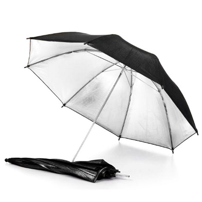 "Professional 33"" Studio Photography Soft Light Umbrella - White"