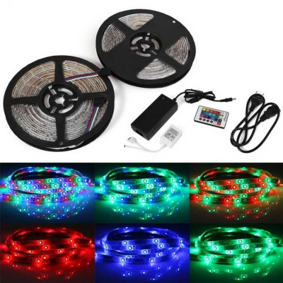 YouOKLight 33FT/10M RGB LED Light Strips 600-3528 SMD LED Waterproof