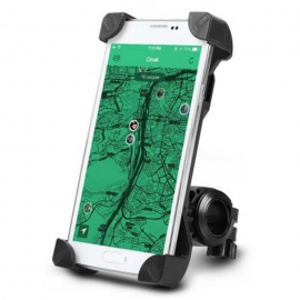 Adjustable Handlebar Phone Mount Holder for Bicycle Bike - Black