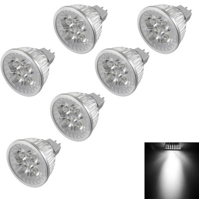 YouOKLight MR16 4W Dimmable 4-LED Spotlights Cold White Light (6PCS)