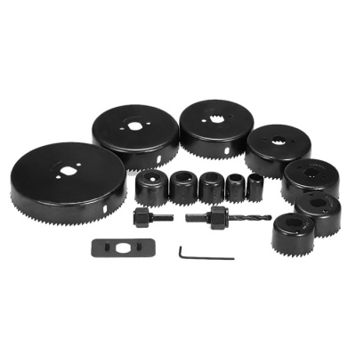 16-in-1 Hole Saw Kit Cutting Drilling Tool Wood Metal Cutter Set