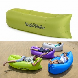 Naturehike Portable Waterproof Inflatable Sofa Sleeping Bag - Green