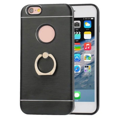 Protective TPU Back Case + Ring Holder for IPHONE 6 / IPHONE 6S