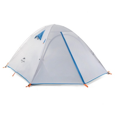 NatureHike Ultralight 2/3-Person Outdoor Camping Tent Kit - Gray