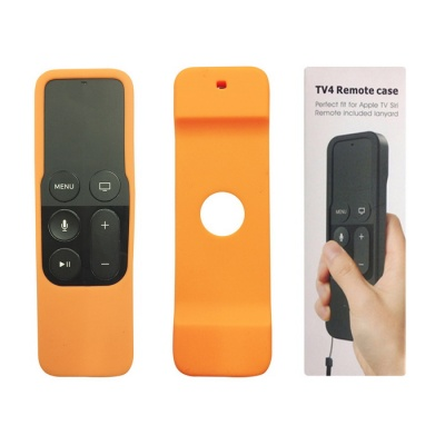 Apple TV Remote Control Case for Apple TV 4th Generation - Orange