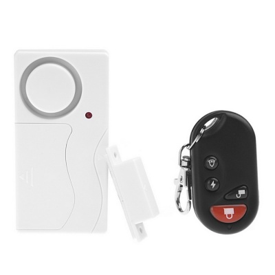 Remote Control Home Security Alarm Warning System with Magnetic Sensor