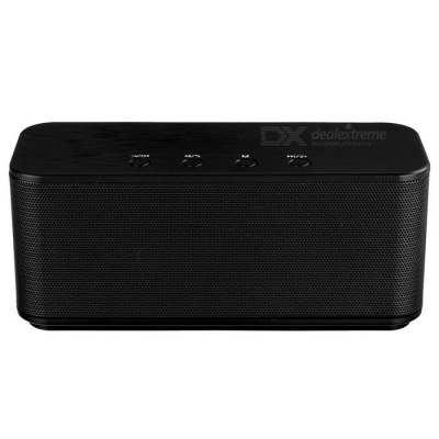 Stereo Sound Wireless Bluetooth V3.0 Speaker Subwoofer - Black