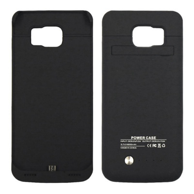 Ultrathin 4200mAh Backup Battery Case for Samsung Galaxy S6 - Black