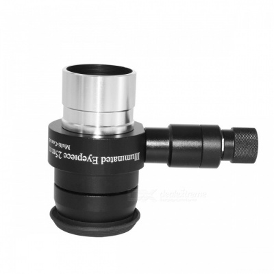"1.25"" FMC 70 Degree Super Wide Angle 20mm Illuminated Eyepiece - Black"