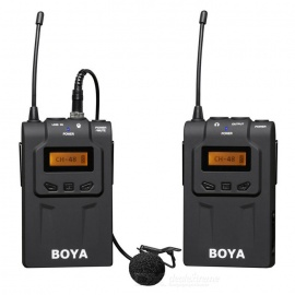 BOYA BY-WM6 Wireless Lavalier Microphone System - Black